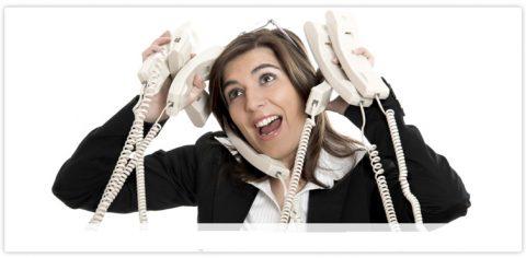 Клиент звонит и пишет в любое удобное для себя время и требует ответа