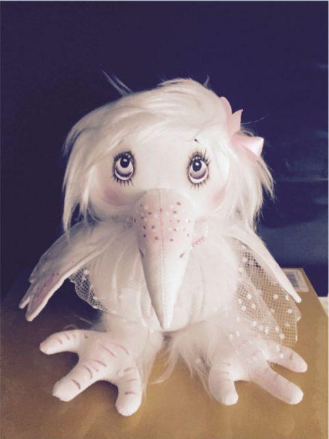 Вот такая симпатюшная Белая Ворона