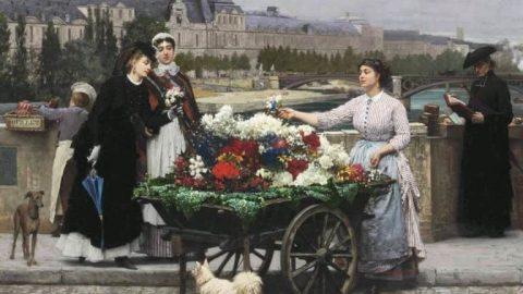 Сказка про сибирскую цветочницу в швейцарских горах